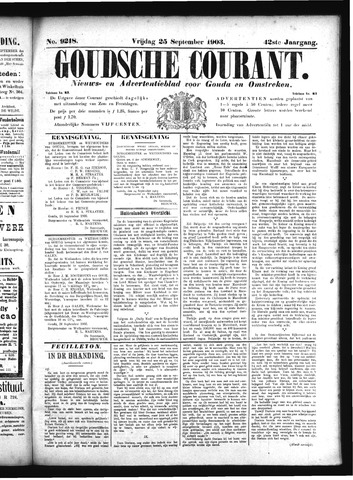 Goudsche Courant 1903-09-25