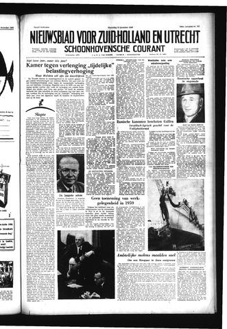 Schoonhovensche Courant 1958-12-10