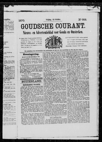 Goudsche Courant 1870-10-14