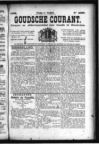 Goudsche Courant 1889-11-12
