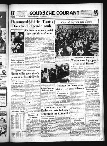 Goudsche Courant 1961-07-25