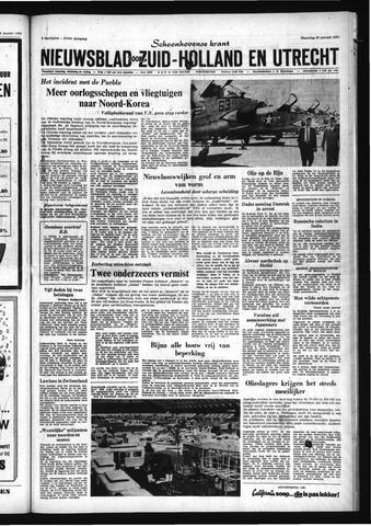 Schoonhovensche Courant 1968-01-29
