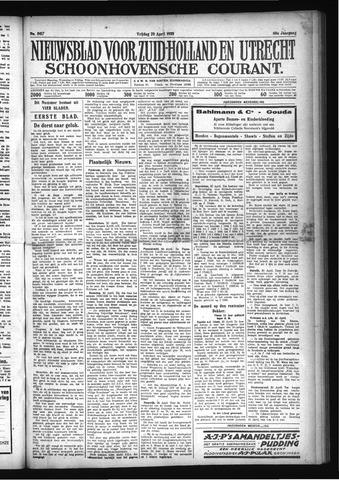 Schoonhovensche Courant 1928-04-20