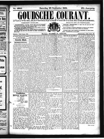 Goudsche Courant 1918-09-28