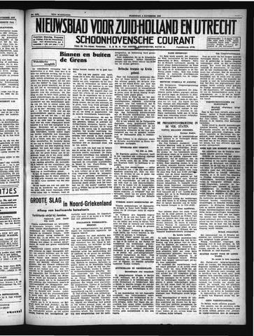 Schoonhovensche Courant 1940-11-06