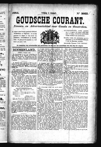 Goudsche Courant 1884-01-04