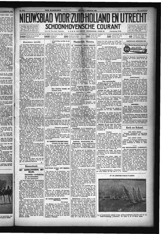 Schoonhovensche Courant 1932-08-05