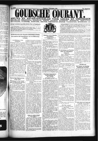 Goudsche Courant 1938-11-01