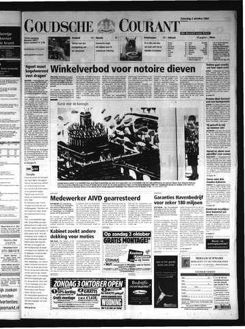 Goudsche Courant 2004-10-02