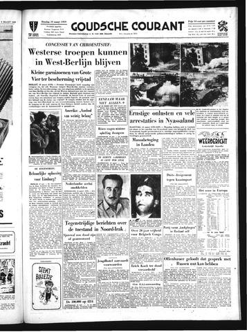 Goudsche Courant 1959-03-10