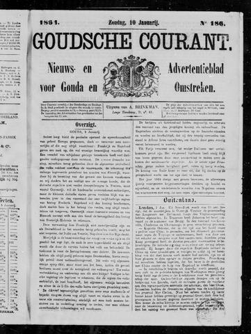 Goudsche Courant 1864-01-10