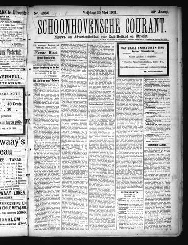 Schoonhovensche Courant 1921-05-20
