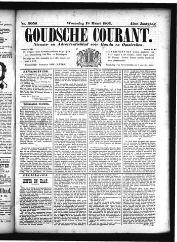 Goudsche Courant 1903-03-18