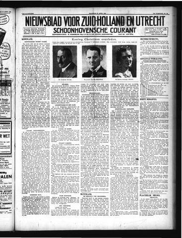 Schoonhovensche Courant 1947-04-21