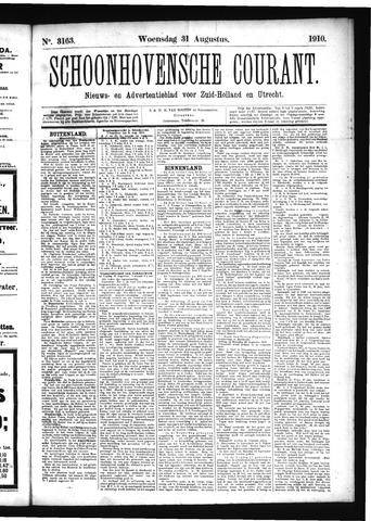 Schoonhovensche Courant 1910-08-31