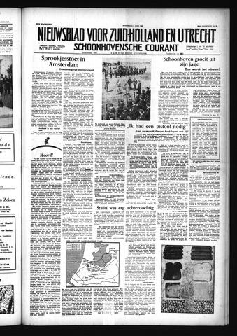 Schoonhovensche Courant 1956-06-06
