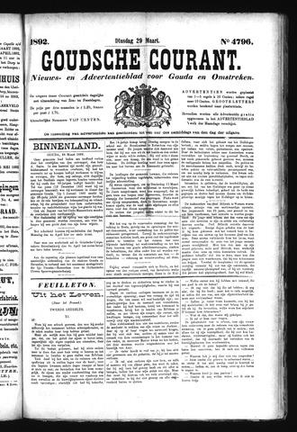 Goudsche Courant 1892-03-29