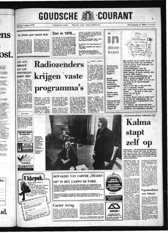 Goudsche Courant 1978-01-07