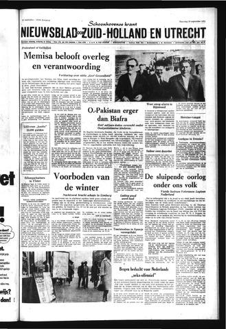 Schoonhovensche Courant 1971-09-20