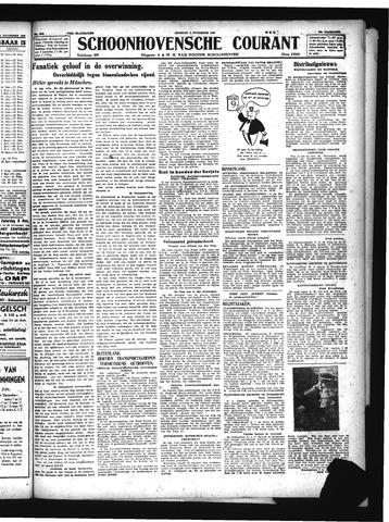Schoonhovensche Courant 1943-11-09