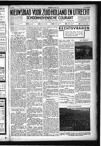 Schoonhovensche Courant 1932-04-18