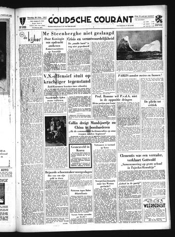Goudsche Courant 1951-02-26