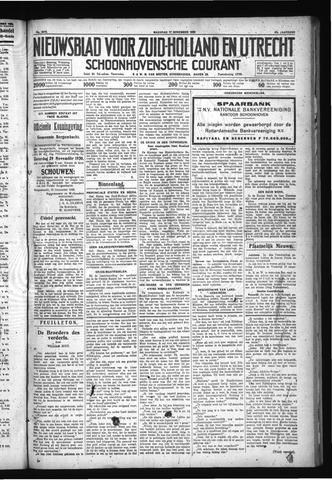 Schoonhovensche Courant 1930-11-17