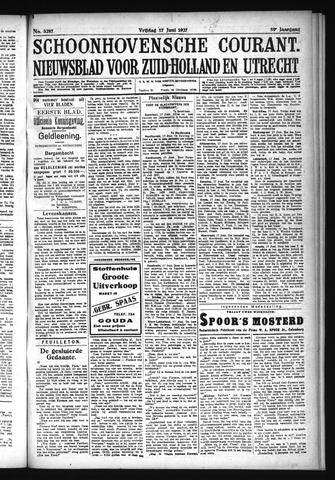 Schoonhovensche Courant 1927-06-17