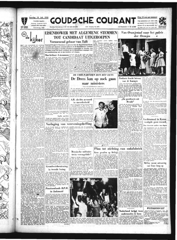 Goudsche Courant 1952-07-12