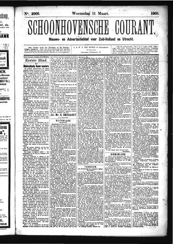 Schoonhovensche Courant 1908-03-11