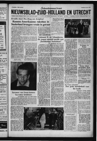 Schoonhovensche Courant 1961-01-09