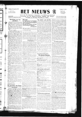 Schoonhovensche Courant 1945-08-24