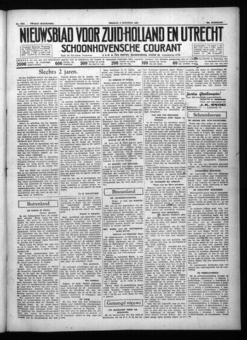 Schoonhovensche Courant 1937-08-06