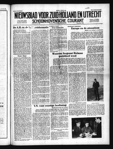 Schoonhovensche Courant 1951-03-09