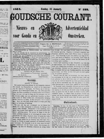 Goudsche Courant 1864-01-31