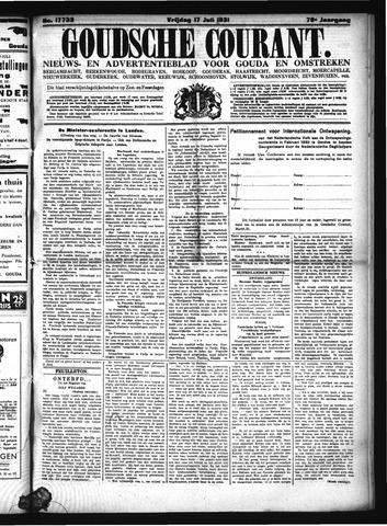 Goudsche Courant 1931-07-17