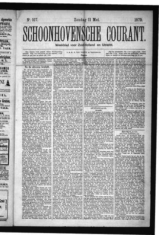 Schoonhovensche Courant 1879-05-11