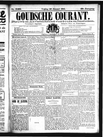 Goudsche Courant 1911-01-20