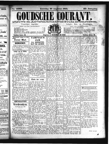 Goudsche Courant 1913-08-30