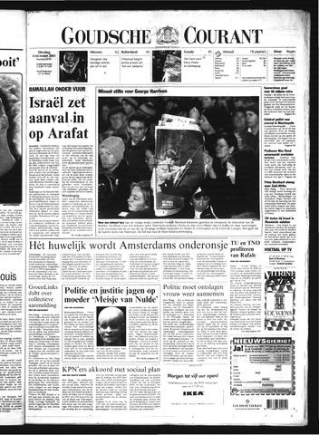 Goudsche Courant 2001-12-04