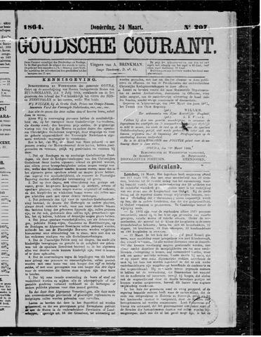 Goudsche Courant 1864-03-24