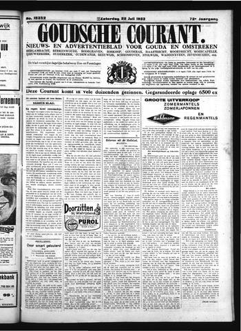 Goudsche Courant 1933-07-22