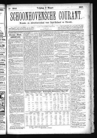 Schoonhovensche Courant 1917-03-09