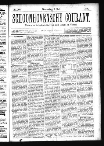 Schoonhovensche Courant 1891-05-06