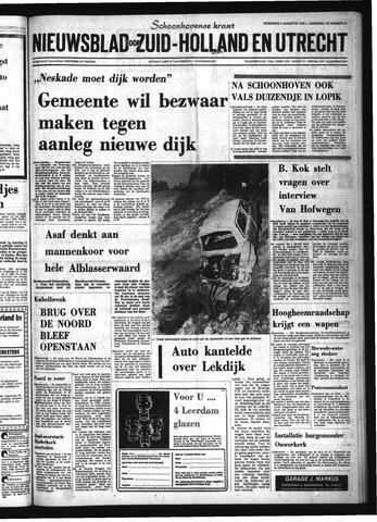 Schoonhovensche Courant 1976-08-04