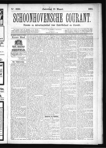 Schoonhovensche Courant 1911-03-18