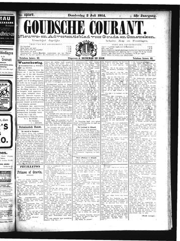 Goudsche Courant 1914-07-02