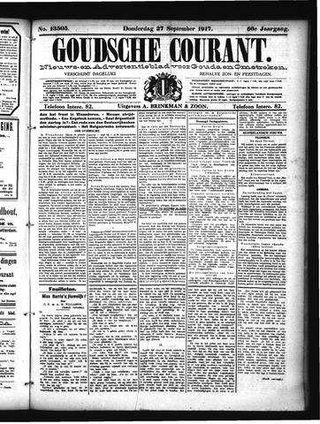 Goudsche Courant 1917-09-27
