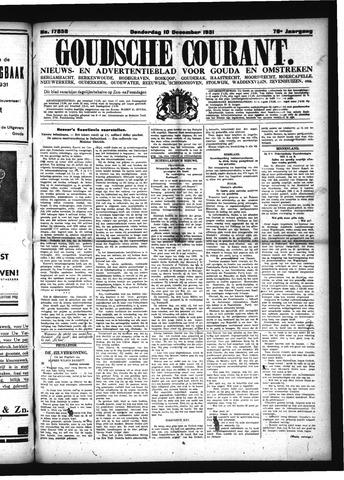 Goudsche Courant 1931-12-10