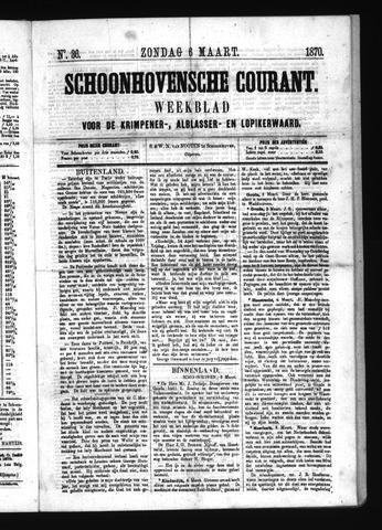 Schoonhovensche Courant 1870-03-06